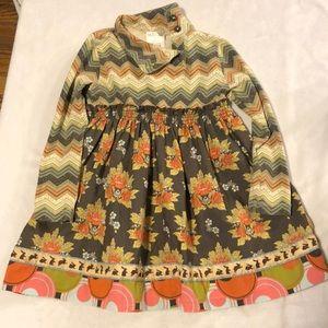 Matilda Jane field day Harlow dress for fall 2T